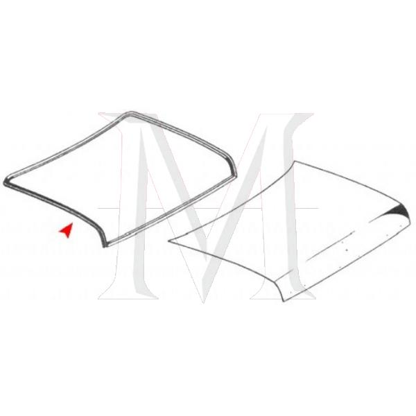 TRUNK LID RUBBER SEAL