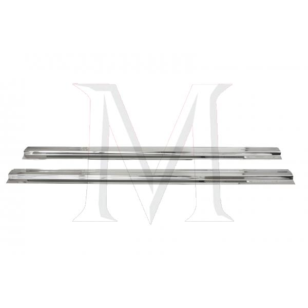 CHROME SILL PLATE SET