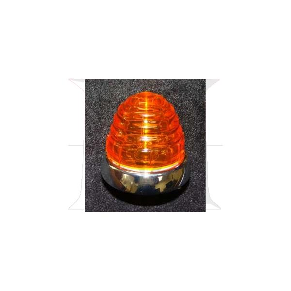 TURN SIGNAL ASSEMBLY - AMBER LENS