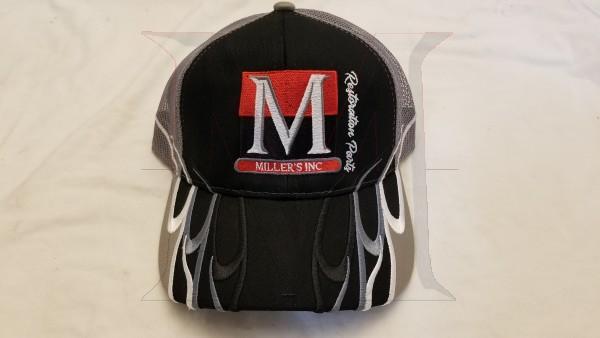 Millers Inc Hat, Grey/Black