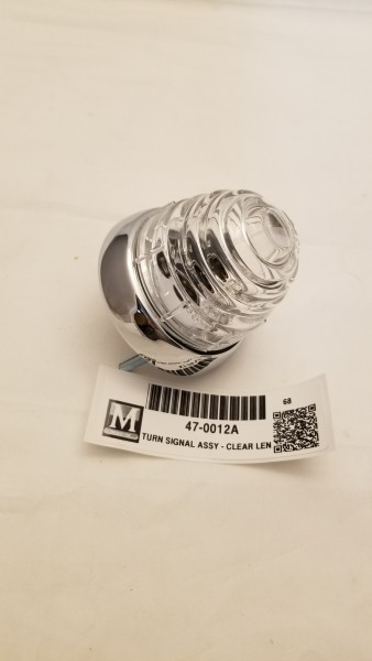 TURN SIGNAL ASSEMBLY - CLEAR LENS