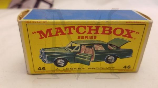 MATCHBOX 46 MERCEDES BENZ 300SE COUPE