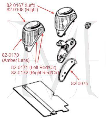 TURN SIGNAL LAMP - LEFT